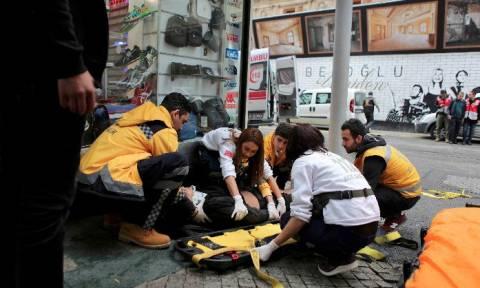 Εικόνες - σοκ από την έκρηξη στην Κωνσταντινούπολη