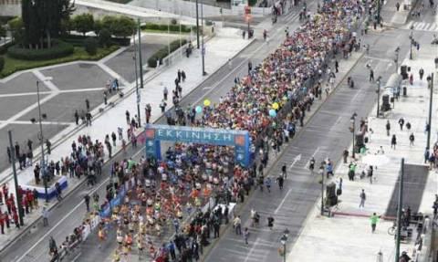 Ημιμαραθώνιος της Αθήνας: Ποιοι δρόμοι θα είναι σήμερα Κυριακή κλειστοί