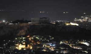 «Η Ώρα της Γης» έσβησε τα φώτα στην Ακρόπολη