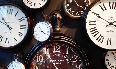 Θερινή ώρα 2016: Πότε γυρίζουμε τα ρολόγια μας μία ώρα μπροστά