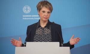 Όλγα Γεροβασίλη: Οι κυβερνήσεις δεν πέφτουν από λεκτικές αστοχίες