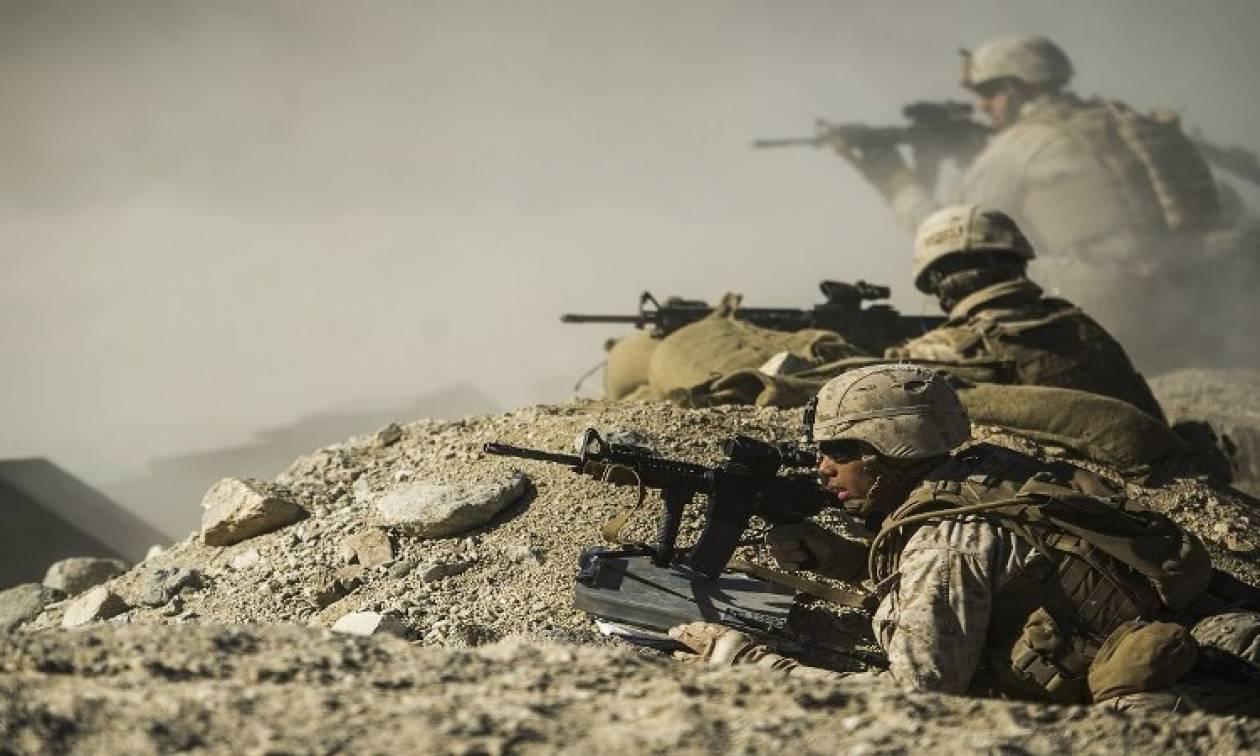 Ομάδα Αμερικανών πεζοναυτών ταχείας επέμβασης ρίχνεται στη μάχη κατά του ISIS