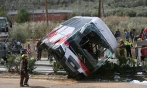 Τουλάχιστον 13 οι νεκροί φοιτητές στο τραγικό δυστύχημα στην Ισπανία (Pics & Vids)