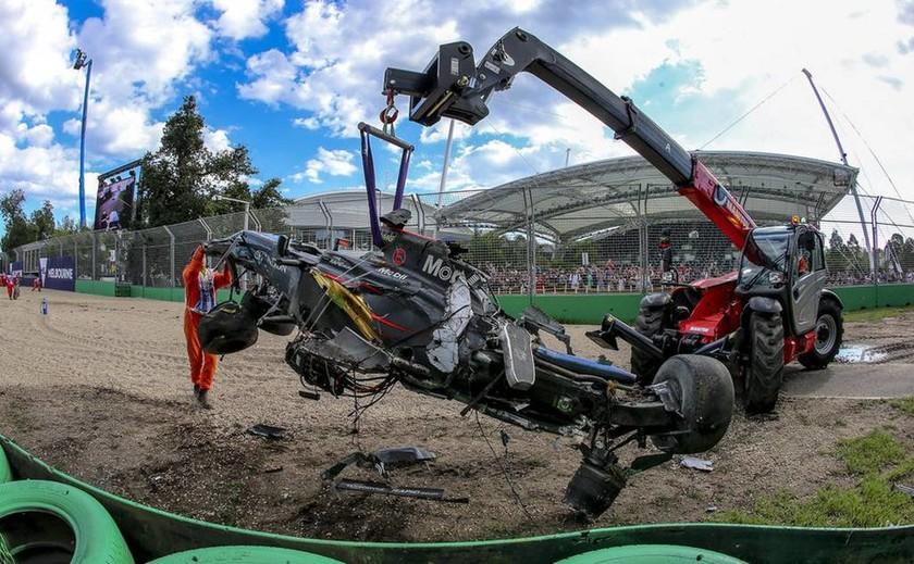 Τα τρομακτικό ατύχημα του Αλόνσο της Formula 1 σε εικόνες