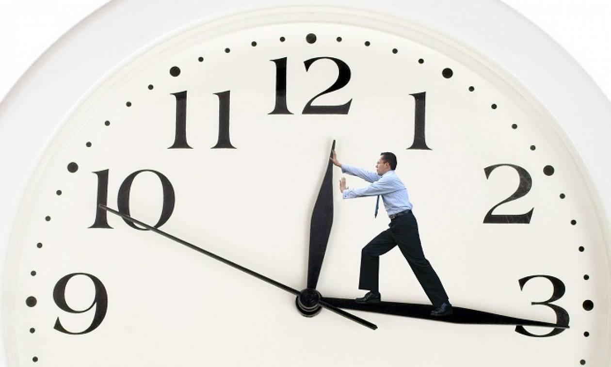 Προσοχή - Θερινή ώρα 2016  Πότε θα γυρίσουμε τα ρολόγια μία ώρα μπροστά fb70c394e91
