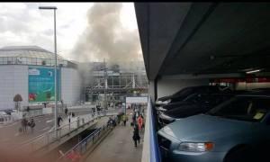 Εκρήξεις στο αεροδρόμια των Βρυξελλών: Οι πρώτες φωτογραφίες