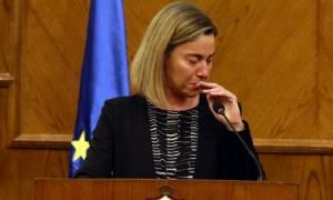 Τρομοκρατικές επιθέσεις Βρυξέλλες: Δηλώσεις με δάκρυα στα μάτια από τη Μογκερίνι