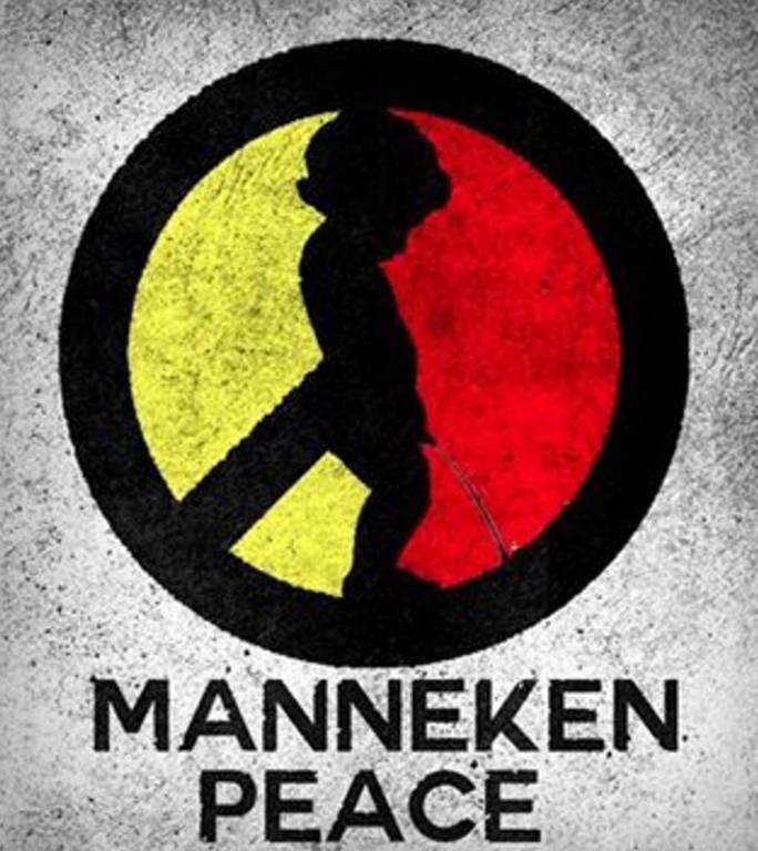 Χαμός με το σύμβολο των Βρυξελλών: Ο μικρός που κατουράει τους τζιχαντιστές (pics)