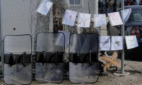 Ειδομένη: Αστυνομική επέμβαση προ των πυλών