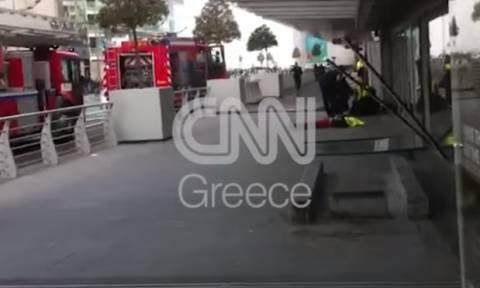 Μόνο στο CNN Greece: Σκληρό βίντεο μέσα από το αεροδρόμιο των Βρυξελλών αμέσως μετά το μακελειό