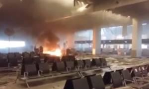 Νέα βίντεο λίγο μετά την έκρηξη στο αεροδρόμιο των Βρυξελλών: Συντρίμμια, αίμα και ουρλιαχτά τρόμου