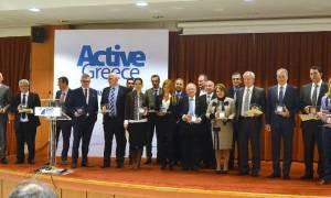 Απονεμήθηκαν τα «Active Greece Awards 2016» - Βράβευση της ΒΙΑΝΕΞ