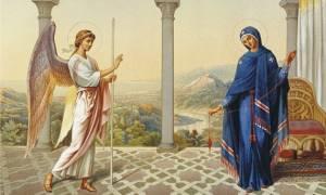 H Ορθοδοξία γιορτάζει σήμερα τον Ευαγγελισμό της Θεοτόκου (video)