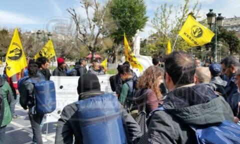 Πορεία διαμαρτυρίας από τα Διαβατά στην πλατεία Αριστοτέλους!