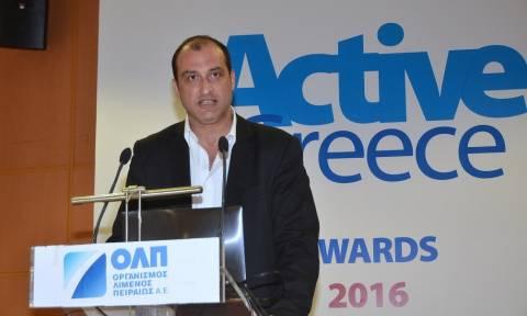 Active Greece Awards 2016: Κοτζιάς – Λύση για την ανάπτυξη των επιχειρήσεων οι διεθνείς αγορές
