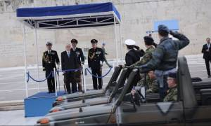 Με λαμπρότητα ο εορτασμός της 25ης Μαρτίου στο Σύνταγμα (photos + vid)