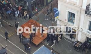 Επεισοδιακή παρέλαση στον Πύργο: Γιατί πέταξαν τις καρέκλες από την εξέδρα των επίσημων; (video)