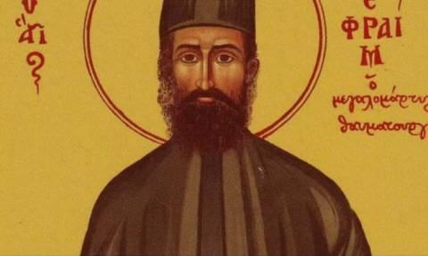 Θαύμα του Αγίου Εφραίμ – H συγκλονιστική ιστορία ενός ναρκομανούς