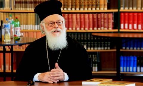 Συκοφαντικό παραλήρημα κατά της Ορθοδόξου Εκκλησίας και του Αρχιεπισκόπου Αναστασίου Αλβανίας