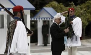 25η Μαρτίου - Παυλόπουλος: Να ορθώσουμε όλοι οι Έλληνες ένα αρραγές μέτωπο συνευθύνης