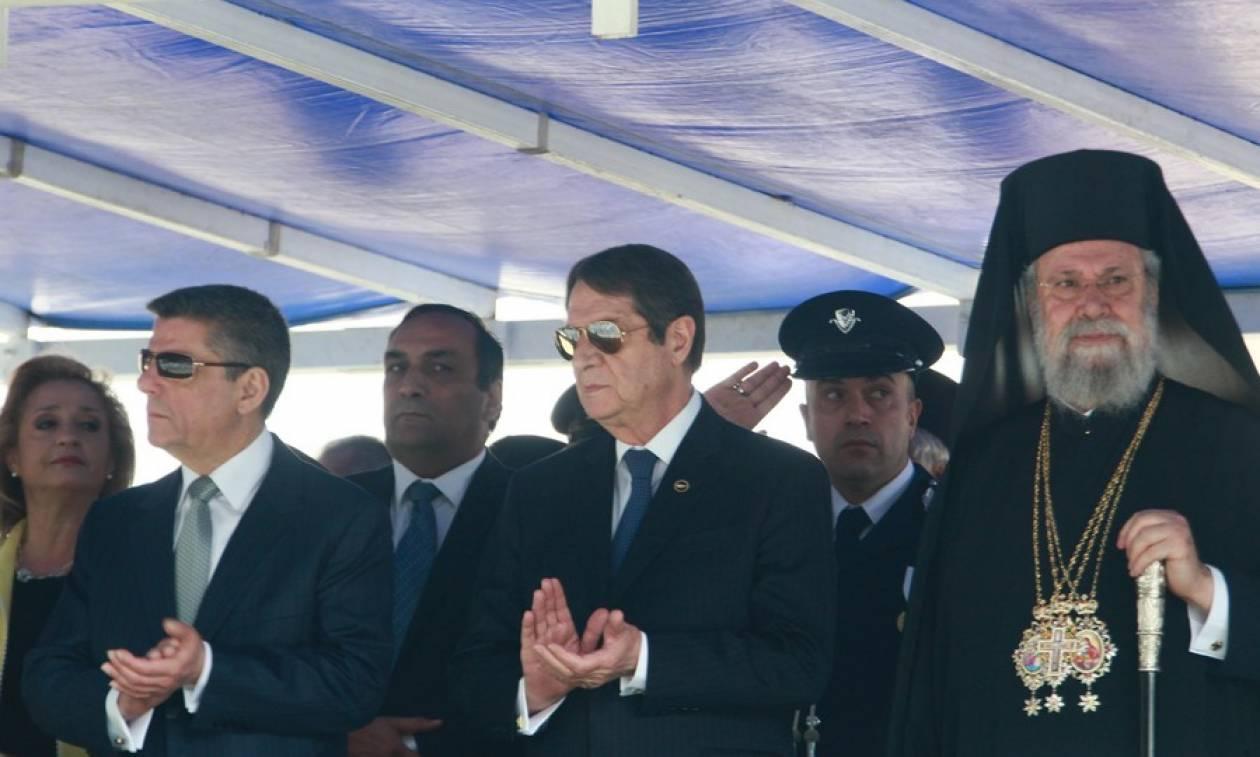 25η Μαρτίου - Αναστασιάδης: Κοινή προσπάθεια για μια δίκαιη λύση στο Κυπριακό