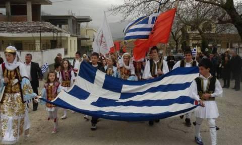 Αλβανία:Με λαμπρότητα γιόρτασαν φέτος οι Έλληνες της Αλβανίας την επέτειο της επανάστασης