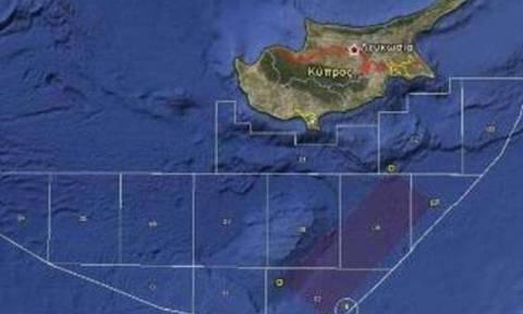 Η Τουρκία διεκδικεί μέρος του οικοπέδου 6 της κυπριακής ΑΟΖ