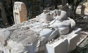 Παλμύρα: Σοκαριστικές εικόνες από τις καταστροφές που άφησαν πίσω τους οι τζιχαντιστές
