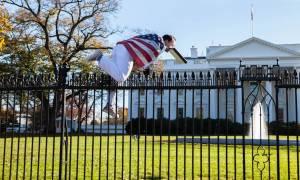 ΗΠΑ: Άγνωστος επιχείρησε να εισβάλει στο Λευκό Οίκο