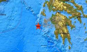 Ισχυρός σεισμός στη Ζάκυνθο - Αισθητός σε μεγάλη έκταση (pic)