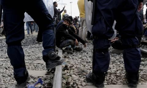 Ειδομένη: Έκλεισε και πάλι η σιδηροδρομική γραμμή