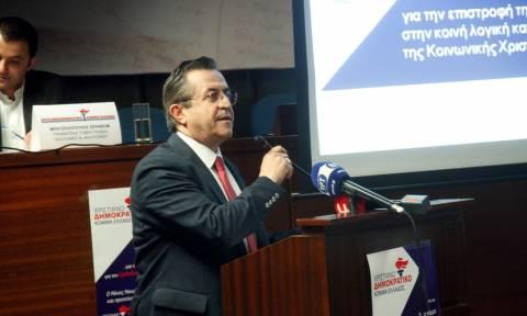 Νικολόπουλος: Υπάρχει χώρος για τη δημιουργία ενός νέου πολιτικού φορέα