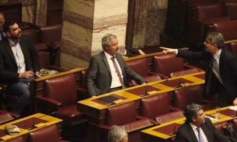 Χαμός στη Βουλή: «Εγώ σε σπούδασα στη Ρουμανία»