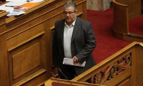 Συζήτηση Βουλή - Δευτερολογία Κουτσούμπα: Η συζήτηση ήταν ένας δικομματικός καυγάς για τα κανάλια