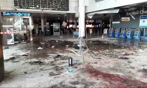 Αίμα και συντρίμμια παντού - Νέες συγκλονιστικές φωτογραφίες από το αεροδρόμιο των Βρυξελλών