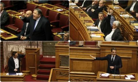 Σκηνές «φαρ - ουέστ» στη Βουλή - Τα βίντεο της ντροπής