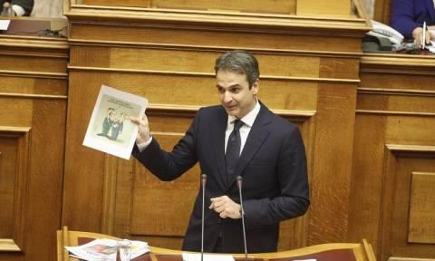 Τι απαντάει ο Αρκάς για το σκίτσο που χρησιμοποίησε ο Μητσοτάκης στη Βουλή