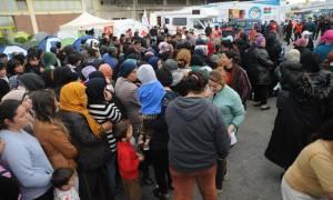 Πορεία διαμαρτυρίας για το προσφυγικό στη Βουλή και τα γραφεία της ΕΕ