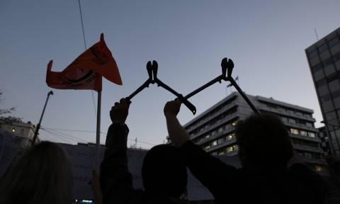 Πορεία διαμαρτυρίας προσφύγων στην Ομόνοια (photo)