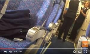 Αεροπειρατεία Κύπρος: Στη δημοσιότητα βίντεο μέσα από το αεροπλάνο της Egypt Air (Vid)