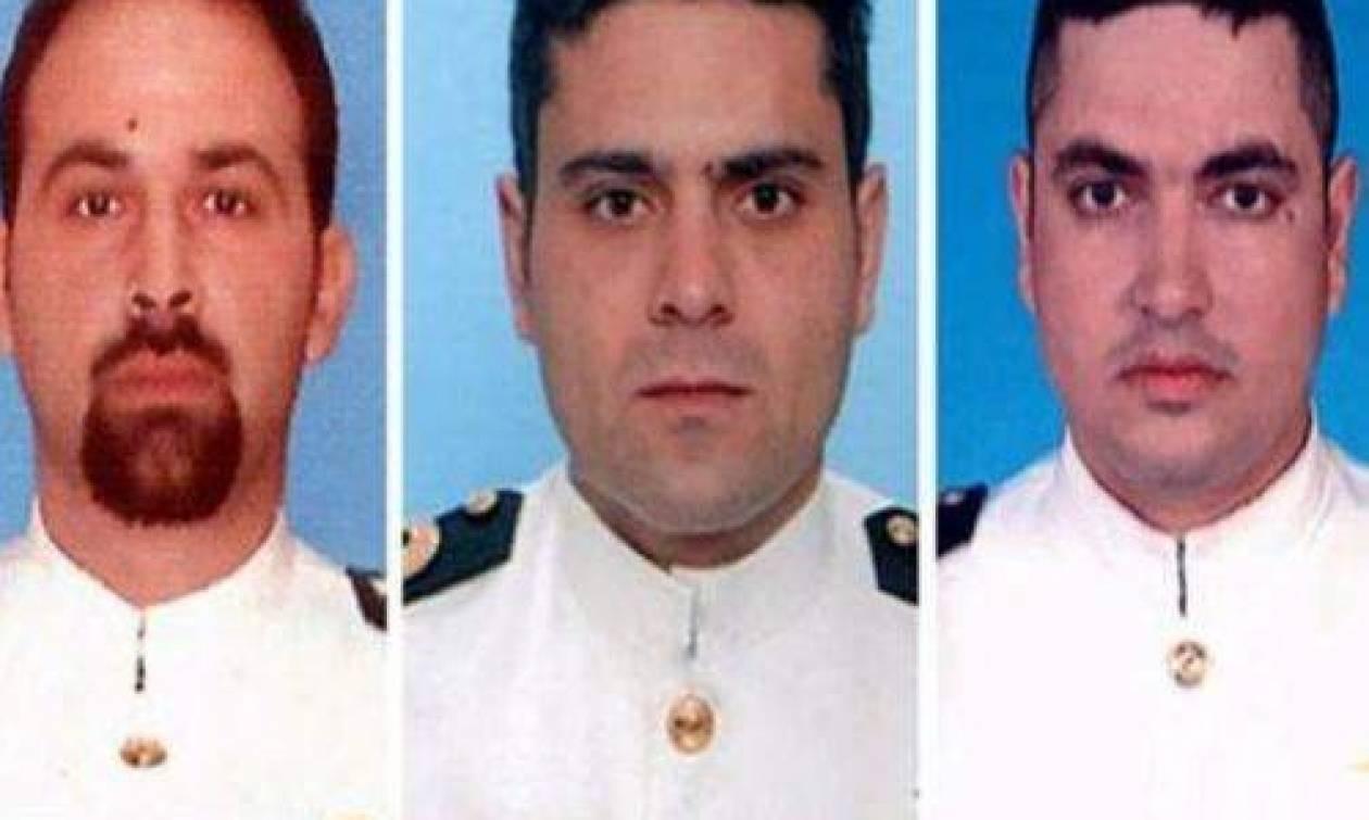 Απονομή βαθμού «Αντιναύαρχου» στους τρεις νεκρούς αξιωματικούς του Πολεμικού Ναυτικού