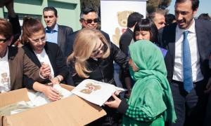Το Ίδρυμα «Μαριάννα Β. Βαρδινογιάννη» στο πλευρό των προσφύγων