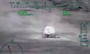 Η «Αρκούδα» βρυχάται: Έτσι πήραν πίσω την Παλμύρα από τους τζιχαντιστές οι Ρώσοι (video)