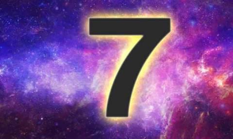 Ο αριθμός 7: Γιατί είναι ιερός και συμβολικός