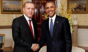 Η συνεργασία στον πόλεμο κατά του ISIS το κύριο θέμα της συνάντησης Ομπάμα - Ερντογάν