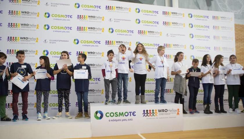 Ρομποτική από μαθητές δημοτικού με τη στήριξη της COSMOTE