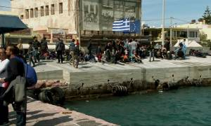 Ξεσηκώθηκαν οι πρόσφυγες - Επεισόδια σε Πειραιά, Ειδομένη και Χίο
