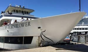 Τρόμος στην προβλήτα: Σκάφος πέφτει πάνω σε τουρίστες! (video)