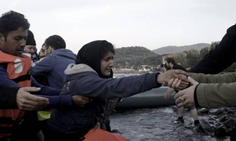 Λέσβος: Διάσωση 122 μεταναστών ανοιχτά του νησιού