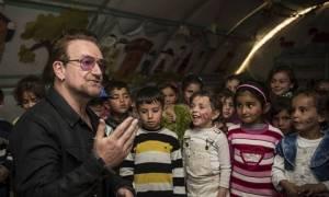 Μπόνο: «Μάθημα για τον κόσμο» η στάση της Τουρκίας απέναντι στους πρόσφυγες (Vid)